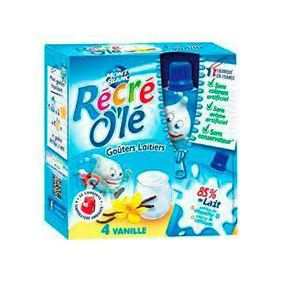 RECRE OLE VANILLE 4X85G