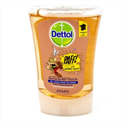 SAV.NO TOUCH DETTOL RECH.250ML
