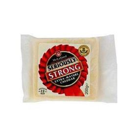 SERIOUSLY CHEDDAR STRONG 200GR