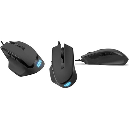 SHARKOON SHARK FORCE BLACK USB MOUSE GAMING
