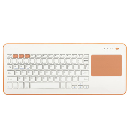 SILVERHT TECLAT TOUCHPAD WIRELESS WHITE/PEACH