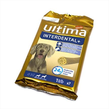 ULTIMA SNACK INTERDENTAL 210GR