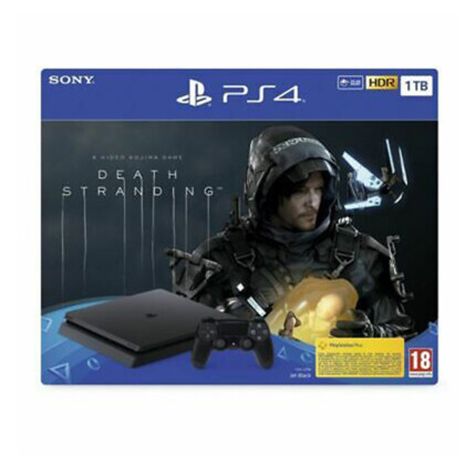 SONY PACK CONSOLA PS4 1TB SLIM + DEATH STRANDING