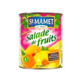 ST MAMET MACEDONIA DE FRUITS 475GR