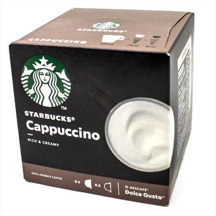 STARBUCKS CAFE CAPPUCCINO X12