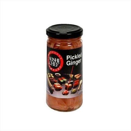 SUSHI CHEF CONDIMENT GINGEBRE 177G.