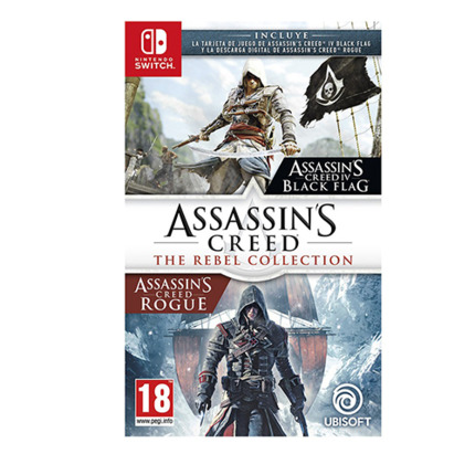 SWITCH ASSASSINS CREED: THE REBEL COLLECTION
