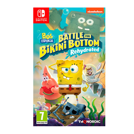 SWITCH BOB ESPONJA BATTLE FOR BIKINI BOTTOM REHYDRATED