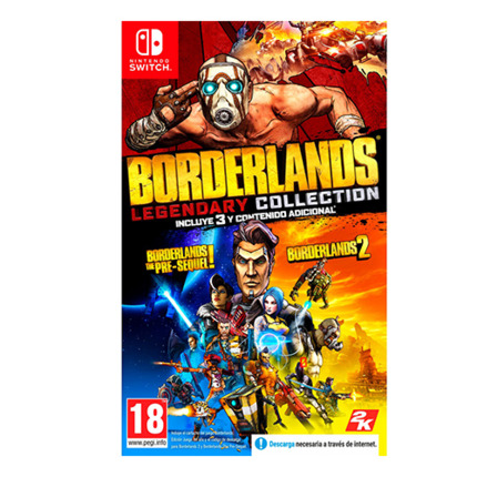 SWITCH BORDERLANDS LEGENDARY COLLECTION