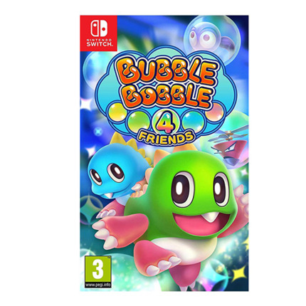 SWITCH BUBBLE BOBBLE 4