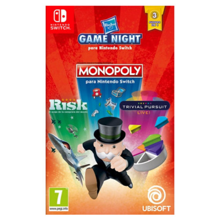 SWITCH HASBRO MONOPOLY+ RISK+TRIVIAL PURSUIT