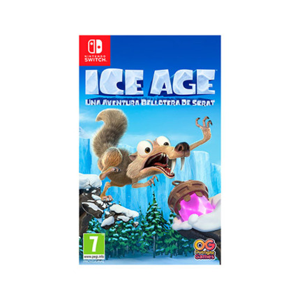 SWITCH ICE AGE UNA AVENTURA DE BELLOTAS