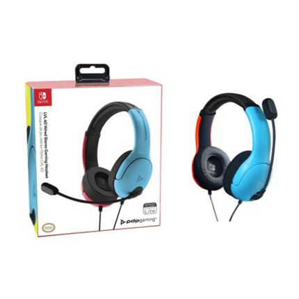 SWITCH LVL40 WIRED BLAU/VERMELL AURICULAR GAMING LICENCIA