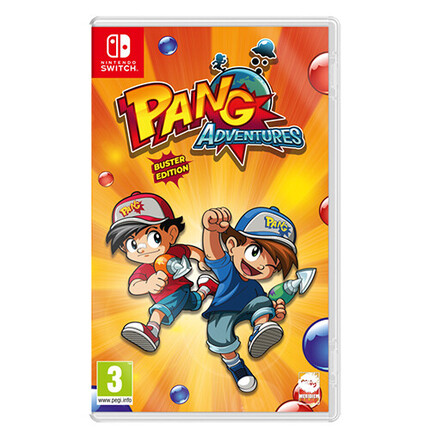 SWITCH PANG ADVENTURES BUSTER EDITION