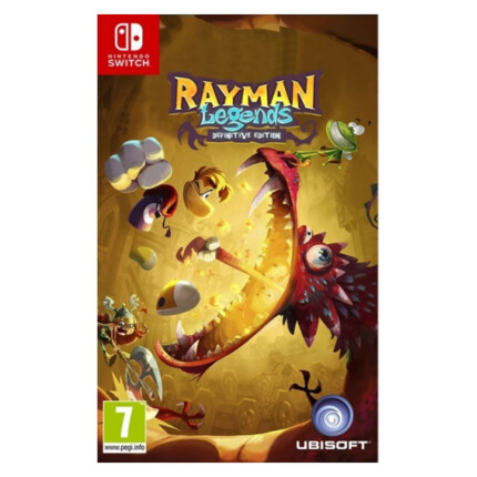 SWITCH RAYMAN LEGENDS DEFINITIVE EDITION