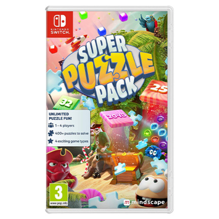 SWITCH SUPER PUZZLE PACK + 500 PUZZLES