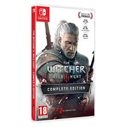 SWITCH THE WITCHER 3 WILD HUNT COMPLETE EDITION LIGHT EDITIO
