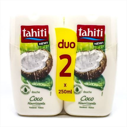TAHITI GEL DUTXA COCO 2X250ML