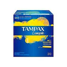 TAMPAX COMPAK X20 REGULAR