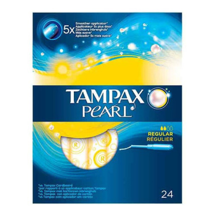 TAMPAX PEARL REGULAR X24