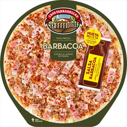 TARRADELLAS PIZZA BARBACOA 400GR