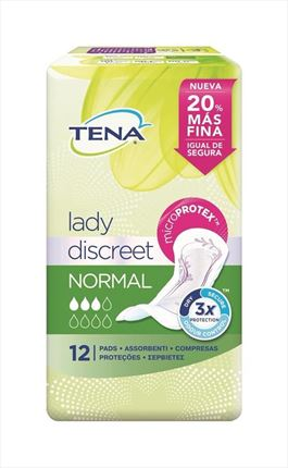 TENA COMP.NORMAL DISCREET
