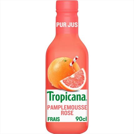 TROPICANA ARANJA ROSADA PET 90CL.