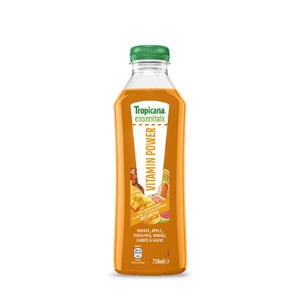 TROPICANA ESSEN.VITAMIN 750ML