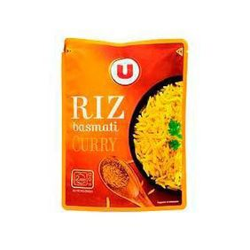 U ARROS BASMATI CURRY MICRO 2MN 250GR