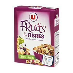 U CEREALS FRUITS FIBRA 500GR