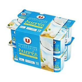 U IOGURT NATURAL ENSUCRAT 12X125GR