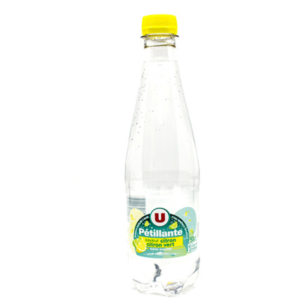 U PETILLANTE CITRON 50CL
