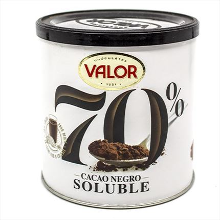 VALOR CACAO SOLUBLE NEGRO 300 GR