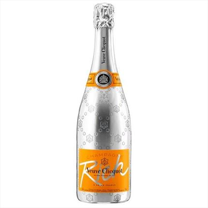 V.CLICQUOT RICH BRUT 75CL.