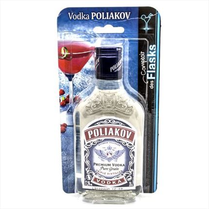 VODKA POLIAKOV FLASK37,5? 20CL