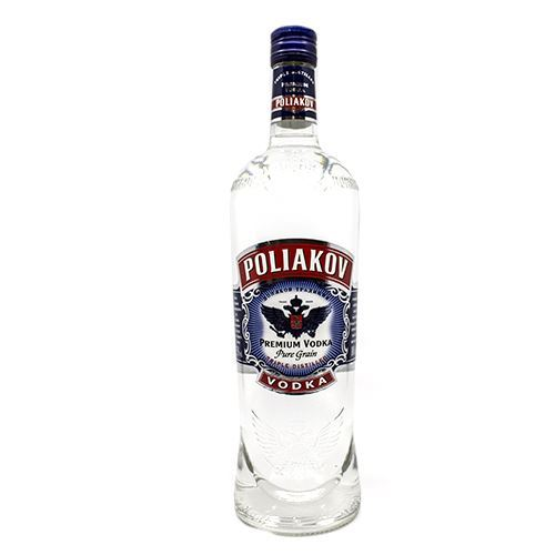 VODKA POLIAKOV NATURE 37,5? 1L