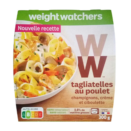 WEIGHT WATCHERS TAGLIATELLES PLLTR 300GR