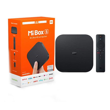 XIAOMI MI TV BOX S REPRODUCTOR VIDEO 4K SMARTTV